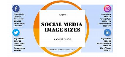 OCM's Social Media Image Sizes Cheat Sheet